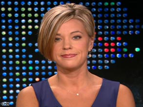 "Kate Gosselin on ""Larry King Live.""/Credit CNN"