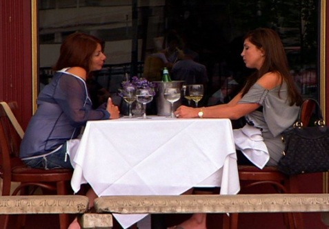 "The friendship between Danielle and Jacqueline has been strained ever since ""the book"" was uncovered./Credit Bravo"