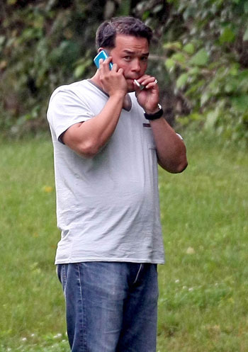 Funny, after all the paparazzi photos, this is the only one that's captured Jon's need for weed?