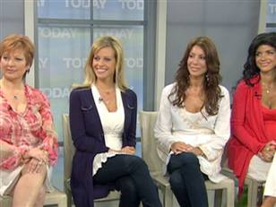 "Caroline Manzo, Dina Manzo, Danielle Staub and Teresa Giudice stop by the ""Today"" show./NBC"