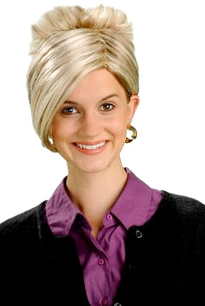 Forget about the Freddy Krueger mask this Halloween. Try the Kate Gosselin wig instead!/Credit www.buycostumes.com