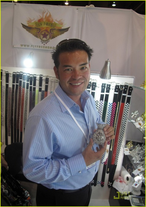 I'm sure Jon Gosselin will find some other way to occupy his Labor Day weekend. A little shopping, maybe?/Credit Just Jared