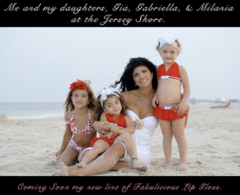 Make room for baby: Teresa Giudice better grow more hands now that she's expecting baby No. 4./Credit Teresa Giudice