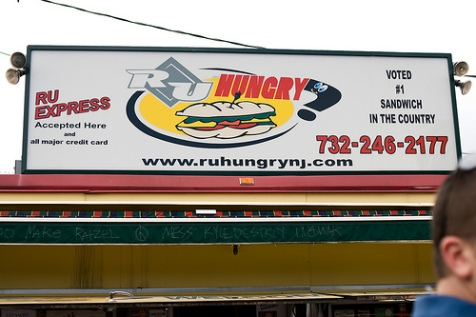 You'd better bring a big appetite with you when you visit the Rutgers grease trucks.